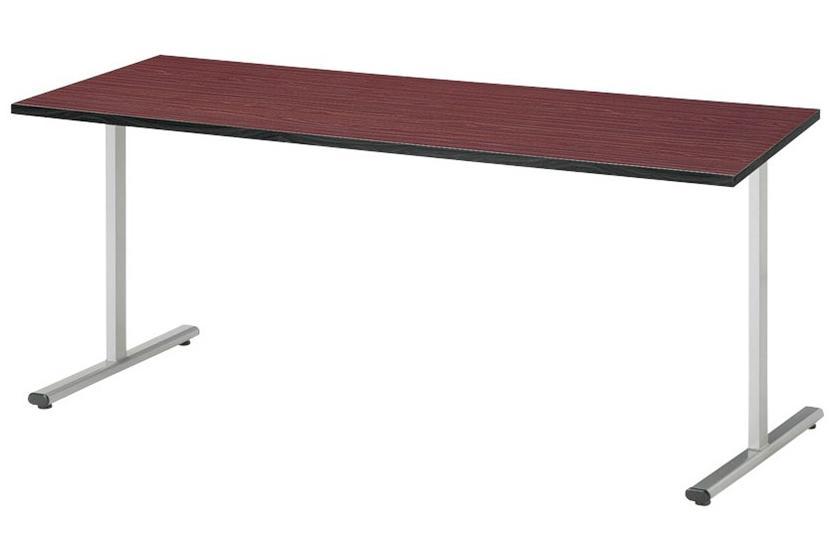 【受注生産品】会議テーブル 角型 対立脚 幅1500×奥行750×高さ700mm [KRT-1575K]