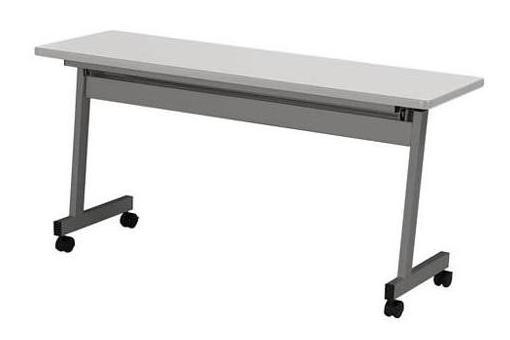 【高さ720mm】【受注生産】フラップ式会議テーブル 幅1500×奥行600×高さ720mm 【LHA-1560H】