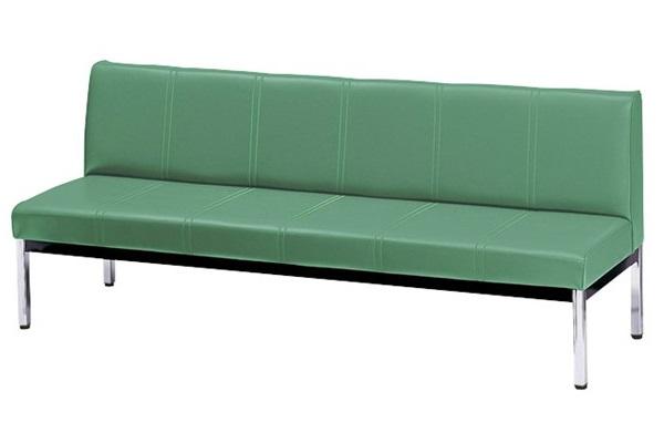 長椅子 待合椅子 ロビーベンチ オフィス家具 国際ブランド 業務用家具 国産 日本製 新品 お客様組立 SH385 IB-18A ロビーチェア W1800×D570×H725 IBシリーズ 激安通販 受注生産 背付き mm