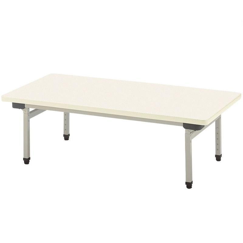 【受注生産品】折りたたみ式テーブル 幅900×奥行600×高さ380-500mm 【EU-0960】