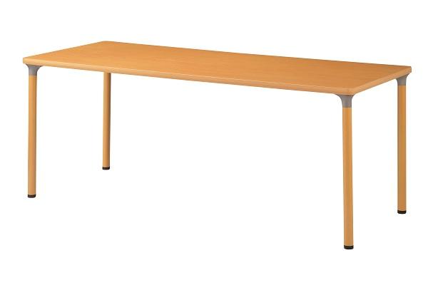 福祉施設用テーブル 角型 幅1800×奥行750×高さ720mm 【FMD-1875】