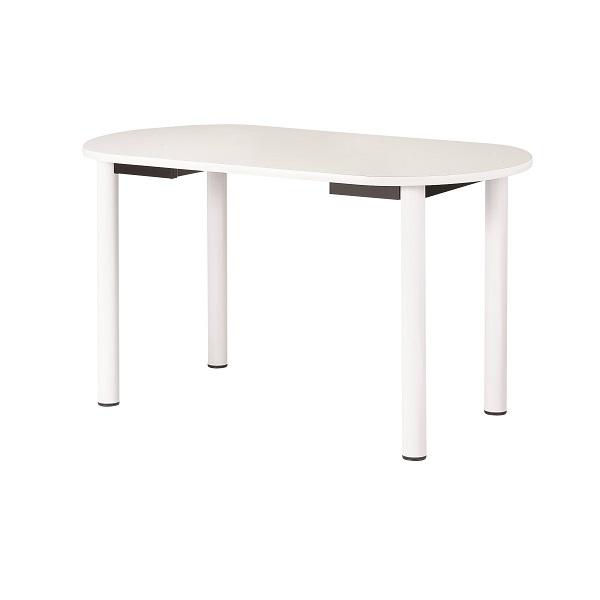 ナーステーブル 四本脚 楕円型 幅1600×奥行900×高さ900mm [NS-1690R]