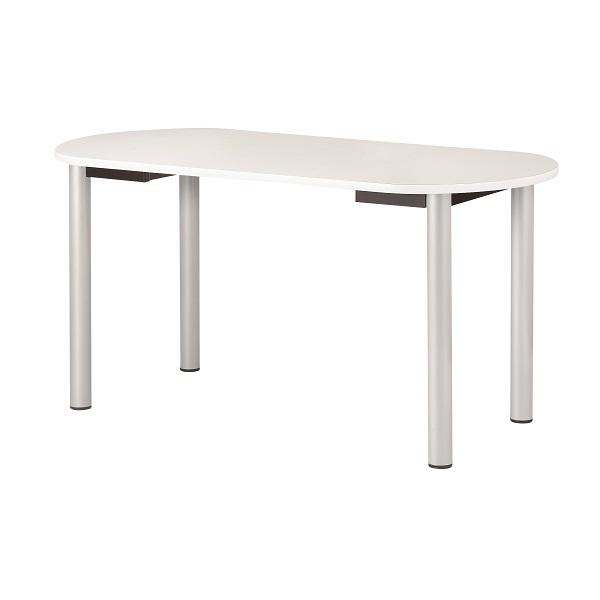 ナーステーブル 四本脚 楕円型 幅1800×奥行900×高さ900mm [NS-1890R]