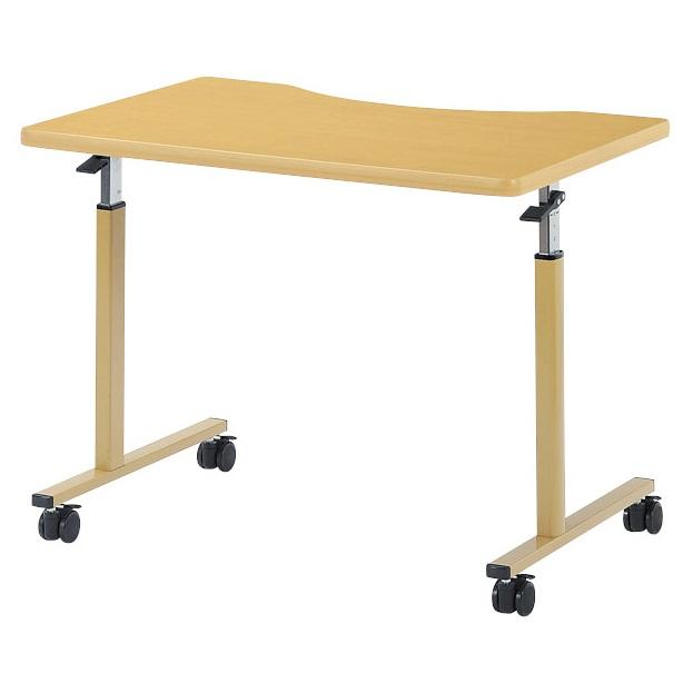 受注生産品 お客様組立 別寸法で作製可能です 高さは不可 車椅子用テーブル ラチェット式高さ調節 幅900×奥行600×高さ640-940mm WFM-0960Q 本日限定 [並行輸入品]