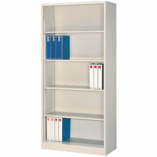 A4対応 オープン書庫 W880×D400×H1860mm 送料別 法人様限定商品 [FO40-G19]