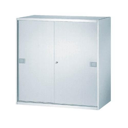 (上下兼用)ステンレス収納庫 引き戸型 幅900×奥行500×高さ900mm 法人様限定商品 [SS-09S]