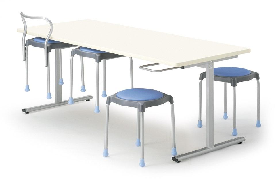 【受注生産品】ダイニングテーブル イス掛け式 W1800×D750×H700mm 6人用 チェアは別売です。[ORS-1875]