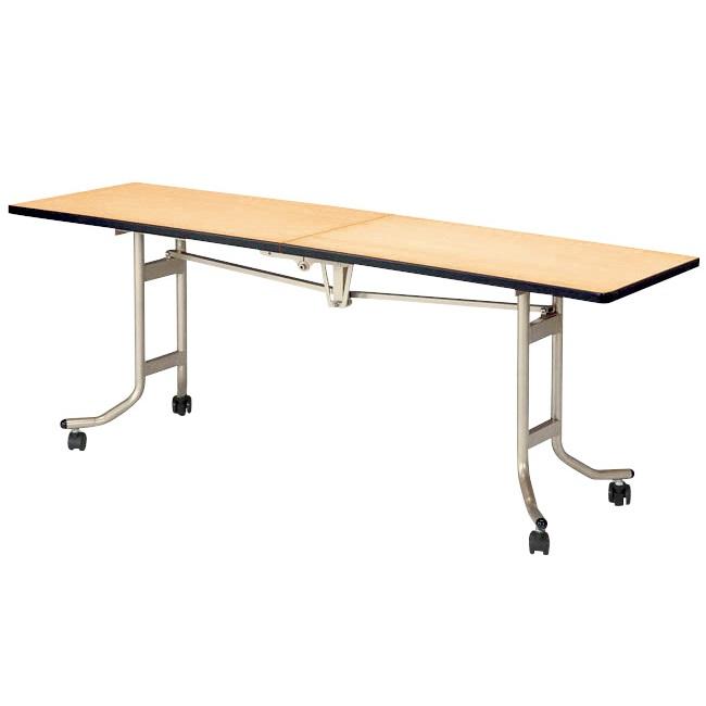 【受注生産品】フライト式宴会テーブル レセプション用テーブル 角型 幅1800×奥行600×高さ700mm 【OSL-1860】
