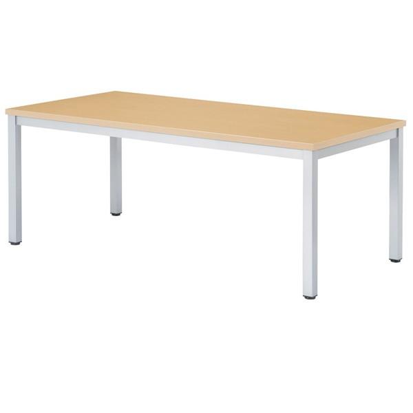 【高さ720mm】【受注生産】会議テーブル 塗装角脚・角型 幅1800×奥行900×高さ720mm [WK-1890]