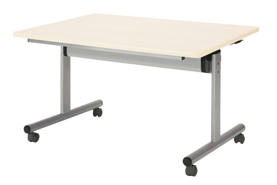 【受注生産品】フラップ式会議テーブル 角型 幅1500×奥行750×高さ700mm 【TOY-1575K】