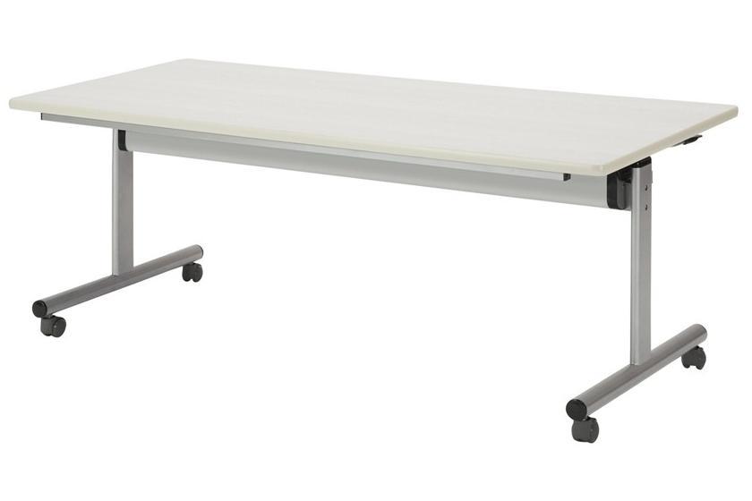 【受注生産品】フラップ式会議テーブル 角型 幅1800×奥行750×高さ700mm 【TOY-1875K】