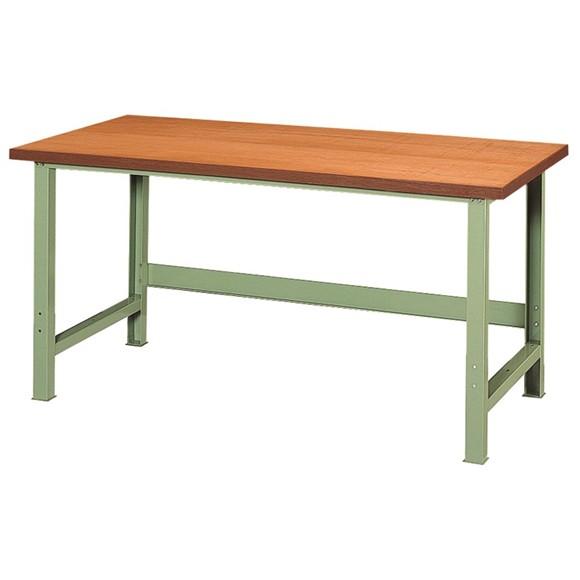 作業台(ワークベンチ)木天板幅1500×奥行700×高さ730mm 【WB-10M】