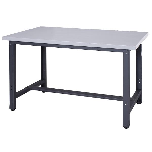 作業台 耐荷重800kg W120×D75×H73.5cm スチール天板 ワークベンチスチール 作業用テーブル お客様組立 個人様宛配送不可 WZS-1275N