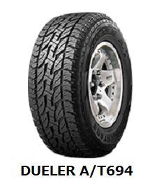 【2018年製造~】*255/70R15 112L LT DUELER A/T 694 ブリヂストン デューラー AT 694 2本以上送料無料 -新品-