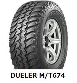 LT225/75R16 103/100Q DUELER M/T 674 ブリヂストン デューラー MT 674  《新品》