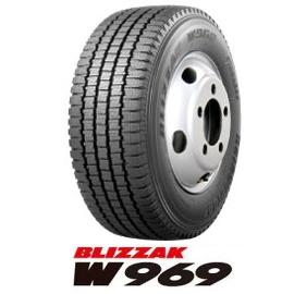 【2018年~製造】215/60R15.5 110/108L BLIZZAK W969 2本以上送料無料 ブリヂストン ブリザック チューブレス-新品-