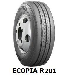 【2018年~製造】205/80R15 109/107L ECOPIA R201 ブリヂストン エコピア 【チューブレス】  《新品》