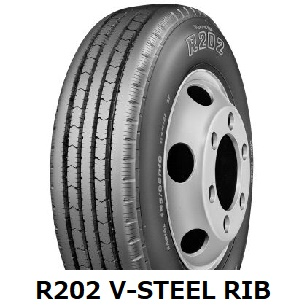 【2018年製造】215/75R15 115/113L R202 V-STEEL RIB R202 ブリヂストン 【新品】