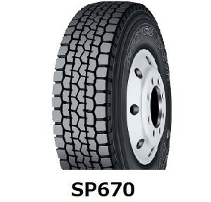 8.25R16 14PR DECTES SP670 送料無料 ミックス ダンロップ 【チューブタイプ】825R16 SP 670 《新品》
