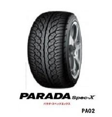 ?製造年週確認可?255/35R22 99V PARADA Spec-X PA02 2本以上送料無料 ヨコハマ パラダ SpecX  -新品-