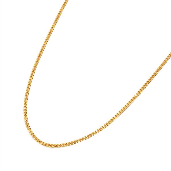 喜平 ネックレス K18 ゴールド 2面 45cm 1.2mm ゴールド キヘイ チェーン 18金 新品 メンズ レディース 035