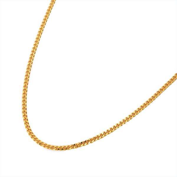 喜平 ネックレス K18 ゴールド 2面 50cm 1.6mm ゴールド キヘイ チェーン 18金 新品 メンズ レディース 045