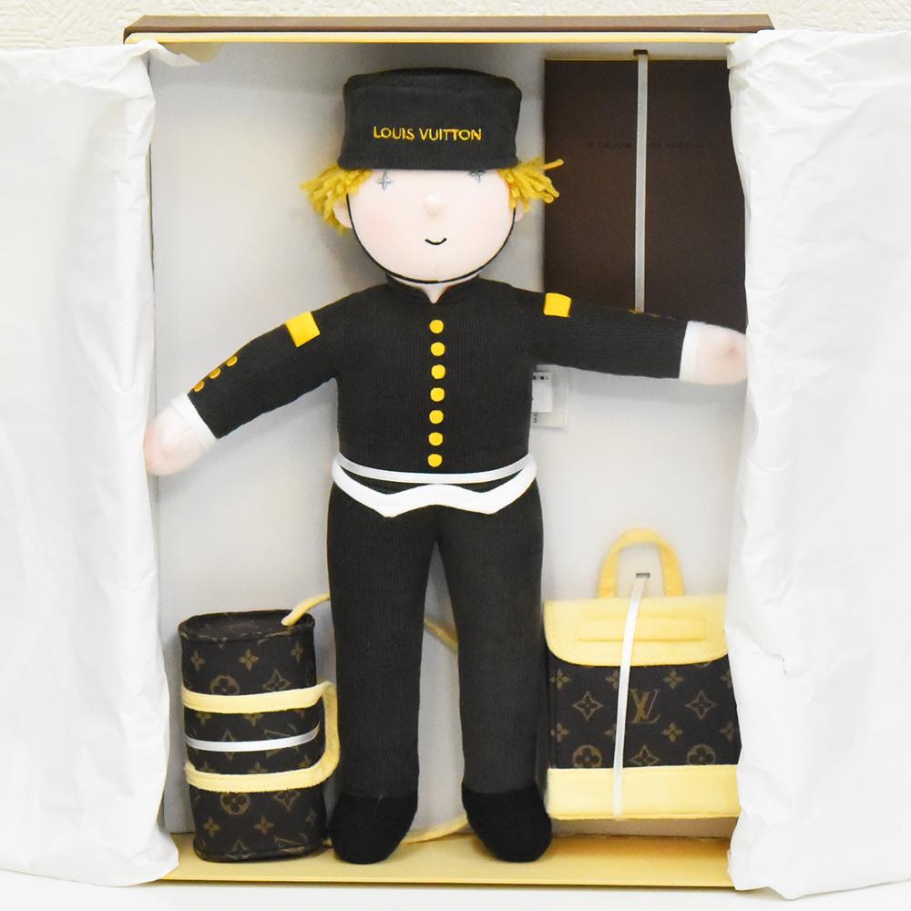 ヴィトン ベルボーイ 人形 LOUIS VUITTON ルイヴィトン ぬいぐるみ ノベルティ 限定 美品