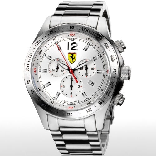 【正規輸入品・日本総代理店保証つき新品】Scuderia Ferrari スクーデリア・フェラーリ 腕時計 FE07‐ACC-CM‐SL スイス製