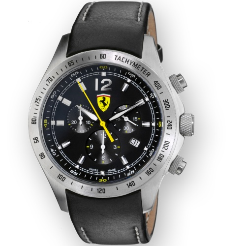 【正規輸入品・日本総代理店保証つき新品】Scuderia Ferrari スクーデリア・フェラーリ 腕時計 FE07‐ACC-CP‐BK スイス製