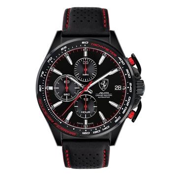 """【正規輸入品・日本総代理店保証つき新品】Scuderia Ferrari スクーデリア・フェラーリ 腕時計""""Pilota""""限定モデル 0830542"""