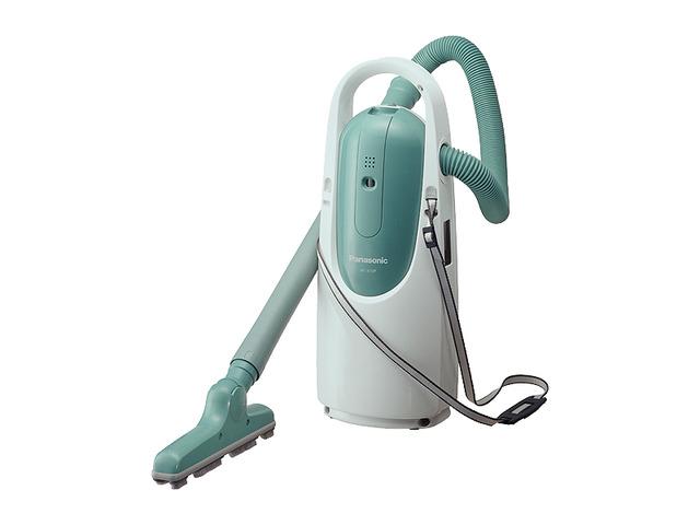 掃除機 肩掛け掃除機 Panasonic かけちゃお MC-K10P-G グリーン
