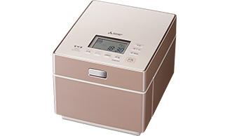 蒸気レス IH炊飯器 三菱電機 5.5合炊き NJ-XS108J