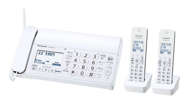 ファックス 子機2個付 パナソニック KX-PD215DW