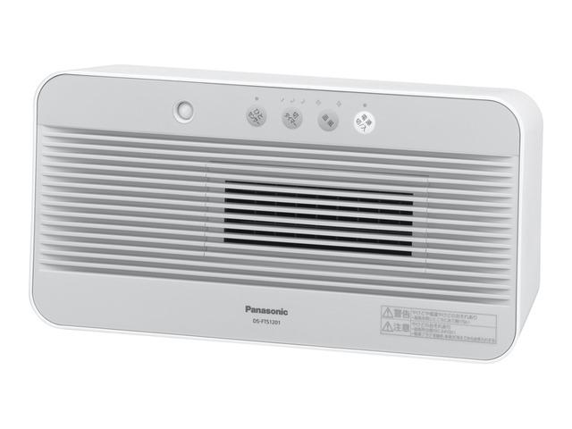 ファンヒーター セラミックヒーター  パナソニック DS-FTS1201-W ホワイト