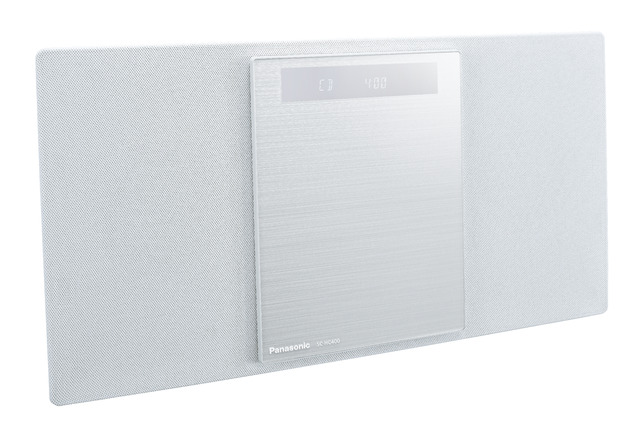 ステレオシステム CD ラジオ Bluetooth パナソニックSC-HC400-W ホワイト