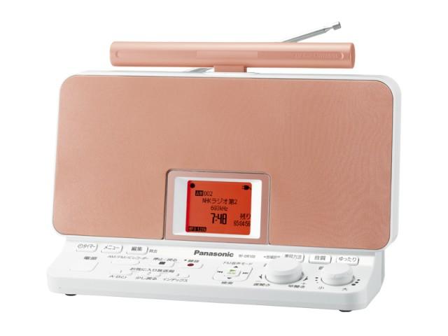 ナショナルパナソニック ラジオレコーダーRF-DR100-D オレンジ