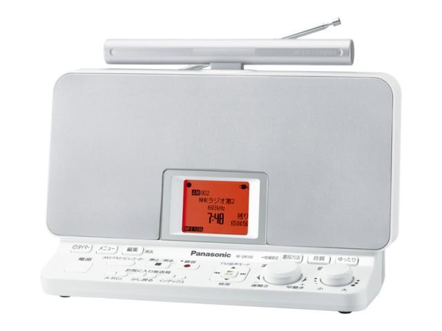 ナショナルパナソニック ラジオレコーダー RF-DR100-W ホワイト