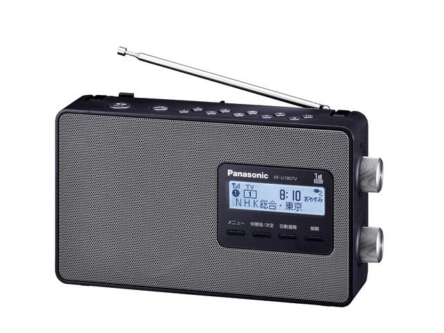 ワンセグTV音声-FM-AM 3バンドレシーバー パナソニック RF-U180TV