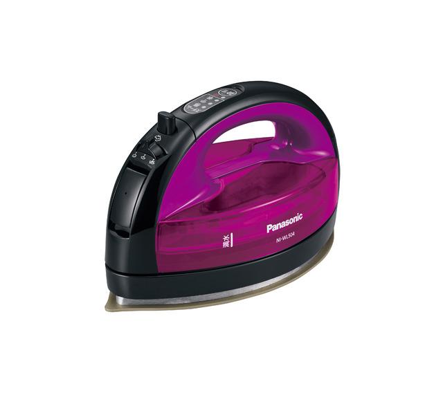 アイロン コードレス スチーム パナソニック NI-WL504-V バイオレット