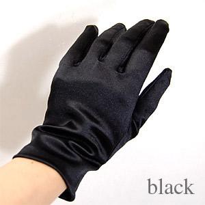\期間限定10%OFF/ 手袋 スパングローブ 21cm/Lサイズ ブラック (H)_3b_