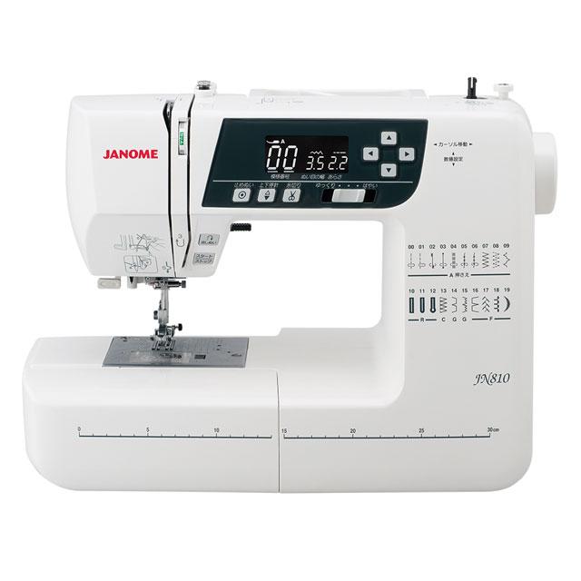 JANOME ●手数料無料!! コンピュータミシン JN-810 数量は多 B zecj