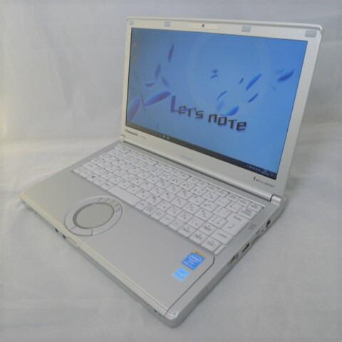 パナソニック Panasonic Let's note CF-SX3 Core i5 8GB 新品SSD2TB 10%OFF スーパーマルチ Windows10 無線LAN モバイルノート 中古パソコン 訳あり 中古 ノートパソコン 12.1インチ 64bitWPSOffice