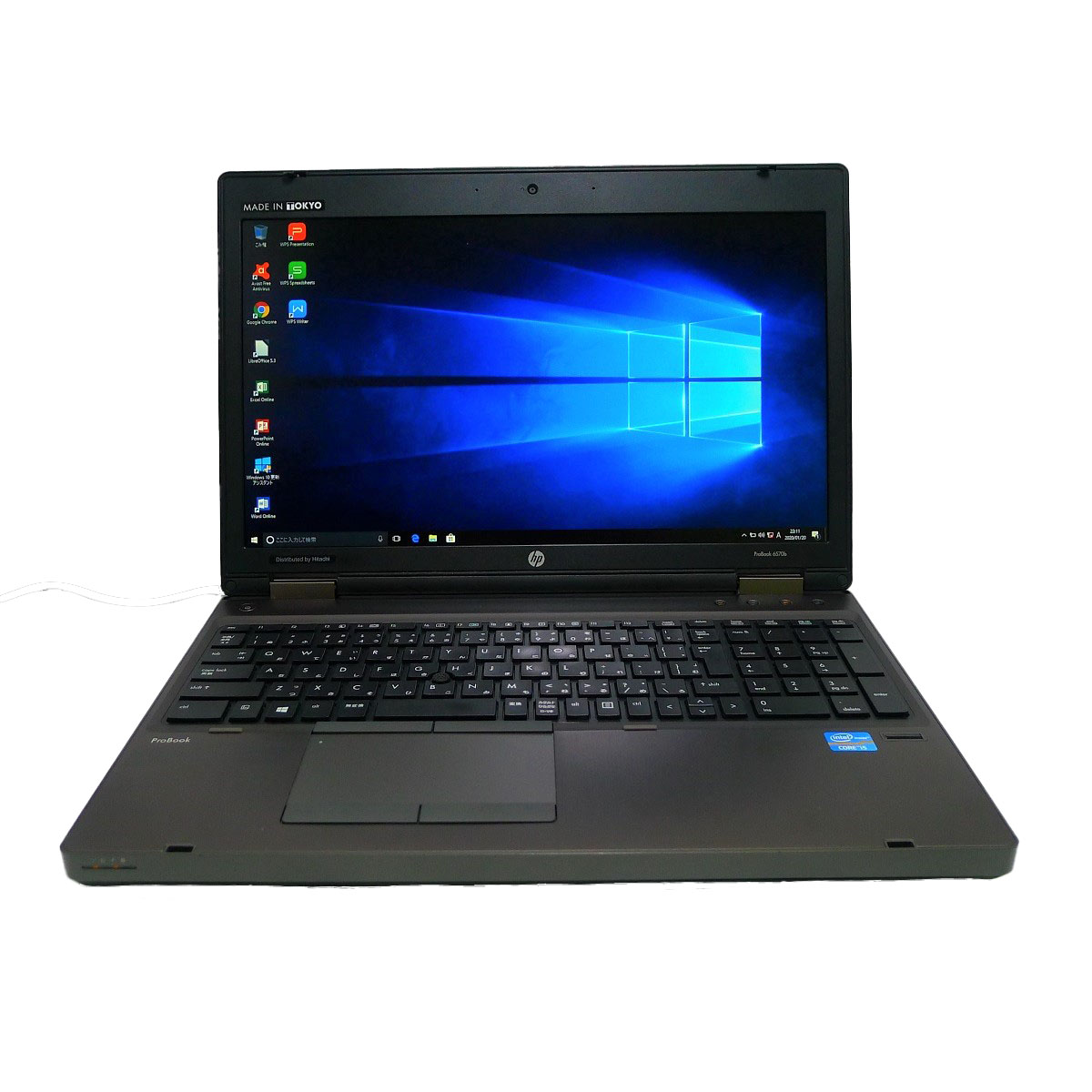 代引き不可 HP ProBook 6570bCeleron 8GB 新品SSD4TB スーパーマルチ 無線LAN 64bitWPSOffice 中古パソコン Windows10 高い素材 中古 15.6インチ ノートパソコン