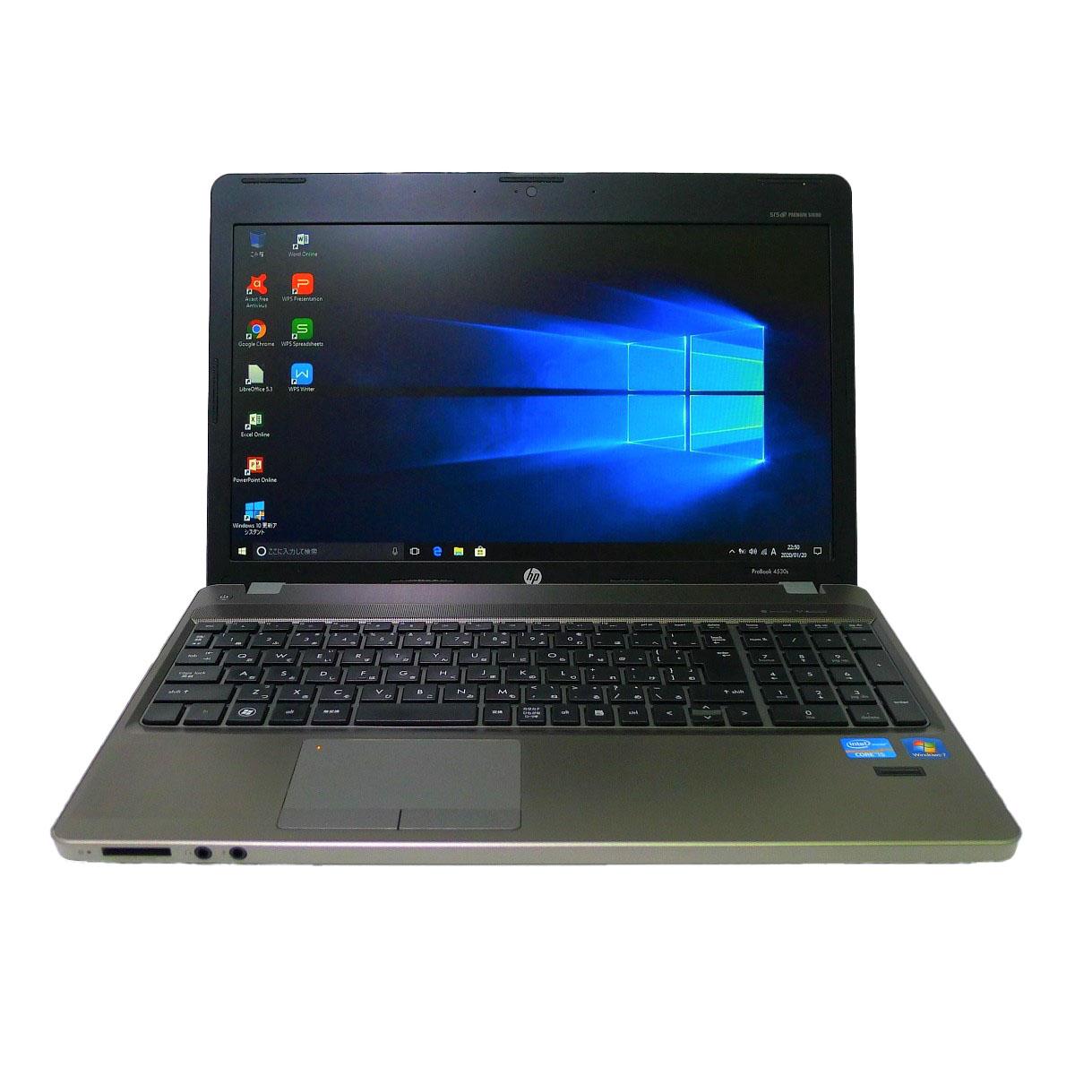 【通販激安】 HP ProBook 4530sCore i5 8GB 新品SSD4TB スーパーマルチ 無線LAN Windows10 64bitWPSOffice 15.6インチ  パソコン 【】 ノートパソコン, 金木町 1cb5dac2