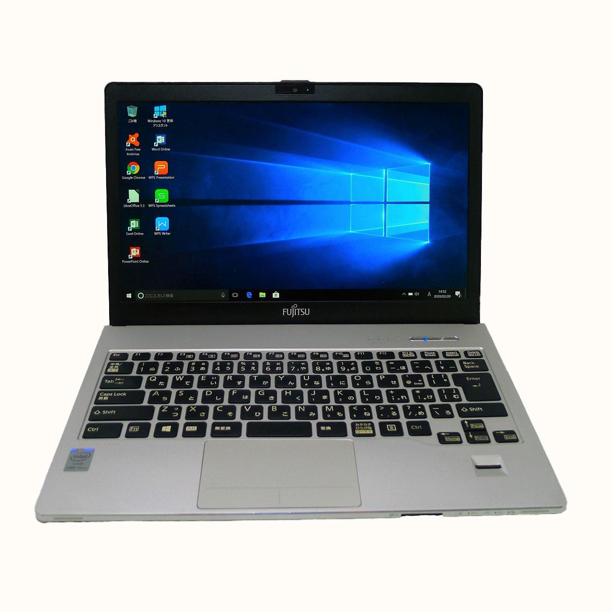 新作 FUJITSU Notebook LIFEBOOK S904 Core i5 Seasonal Wrap入荷 6GB 新品SSD960GB DVD-ROM 無線LAN 中古 モバイルノート Office Windows10 ノートパソコン 64bitWPS 13.3インチ 中古パソコン フルHD