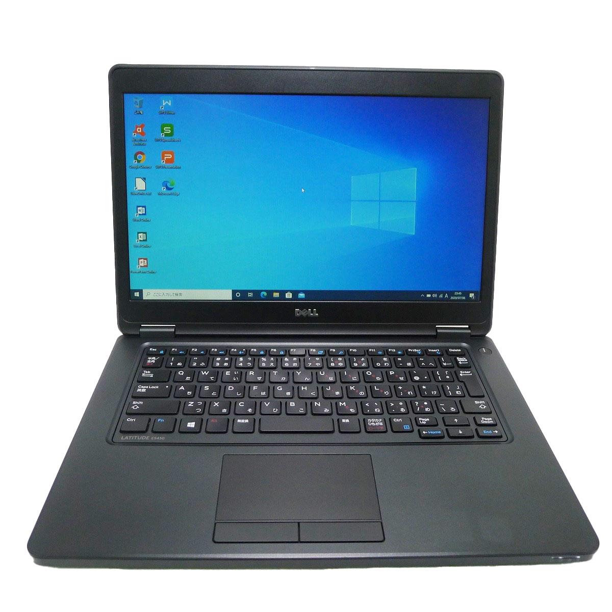 DELL Latitude E5450 Core 期間限定特価品 i5 16GB HDD250GB 無線LAN Windows10 64bitWPSOffice 高品質 HD ノートパソコン 中古パソコン 中古 14.0インチ