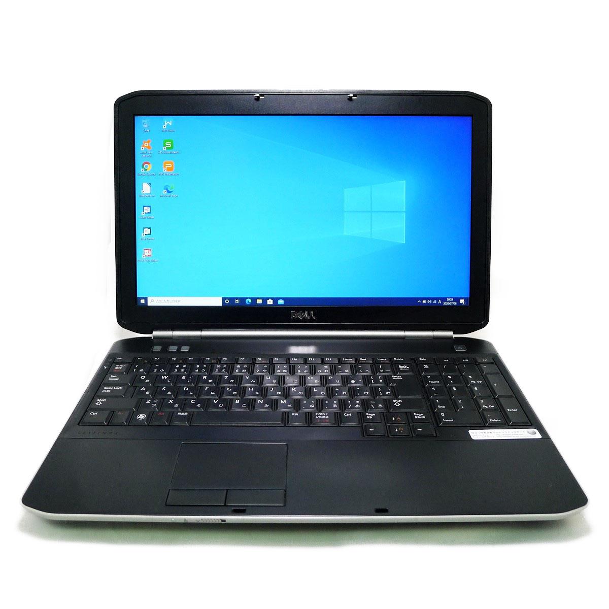 DELL 上等 Latitude E5520 Core i3 4GB HDD250GB スーパーマルチ 64bitWPSOffice 激安通販ショッピング ノートパソコン 無線LAN フルHD 中古 中古パソコン 15.6インチ Windows10