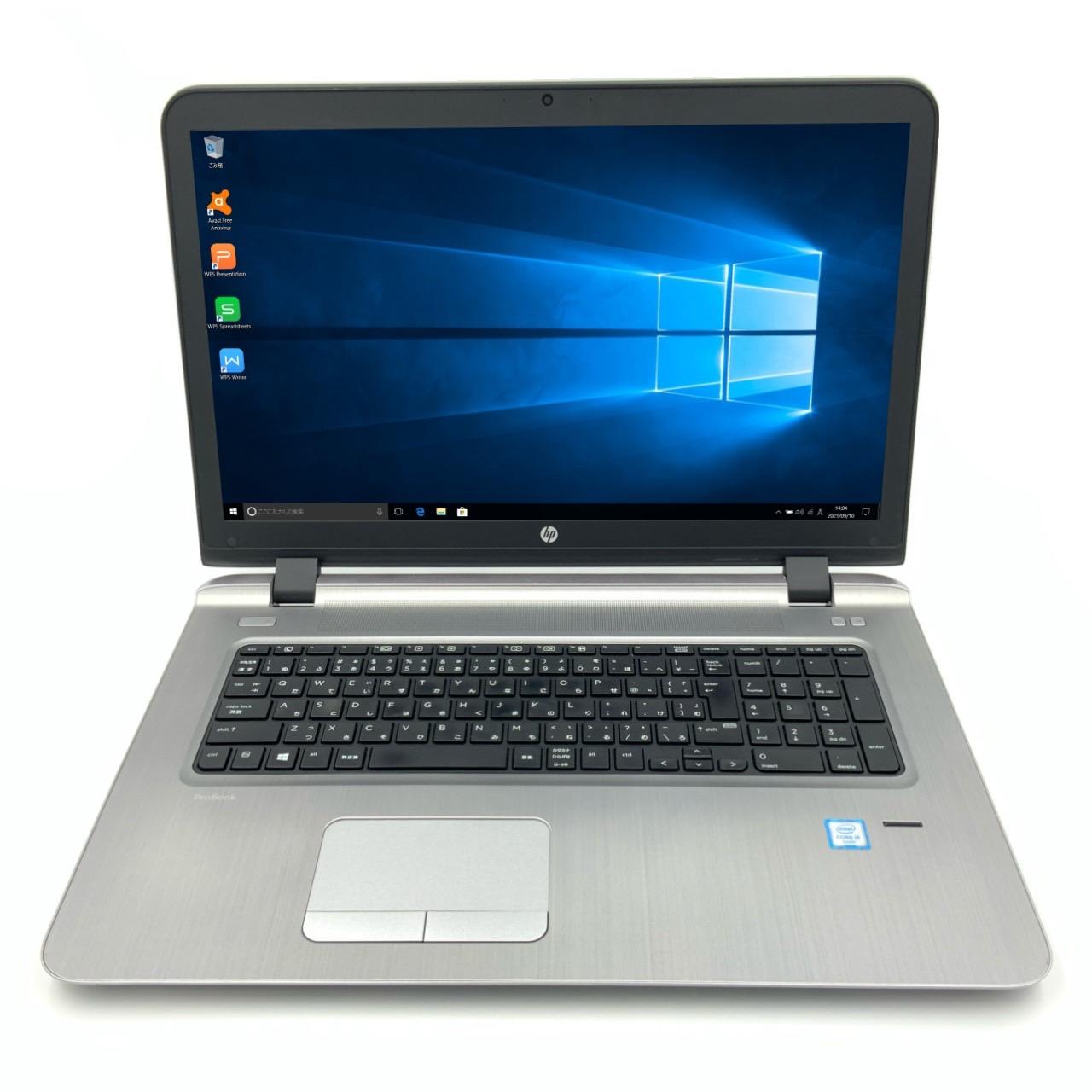 HP ProBook 470 G3 Core 返品不可 i5 4GB 新品SSD4TB 無線LAN Windows10 Notebook ノートパソコン Office 64bit 人気 おすすめ カメラ 中古パソコン WPS 17.3インチ 中古