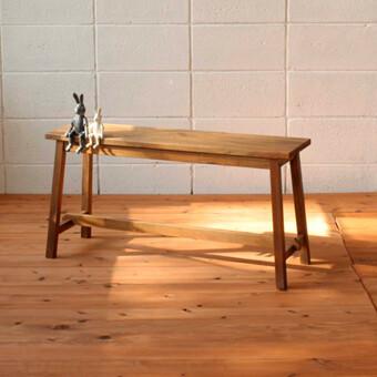 【送料無料】新発売マホガニー材のシンプルなべンチ・イス室内用ガーデン製品かわいい・おしゃれなベンチ