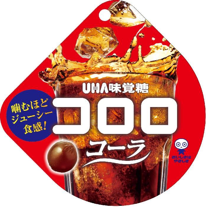 新感覚 激安 UHA味覚糖 コロロ コーラ 40g×6袋 セール品